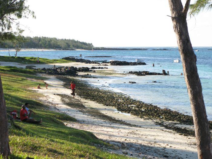 La costa est dell'isola
