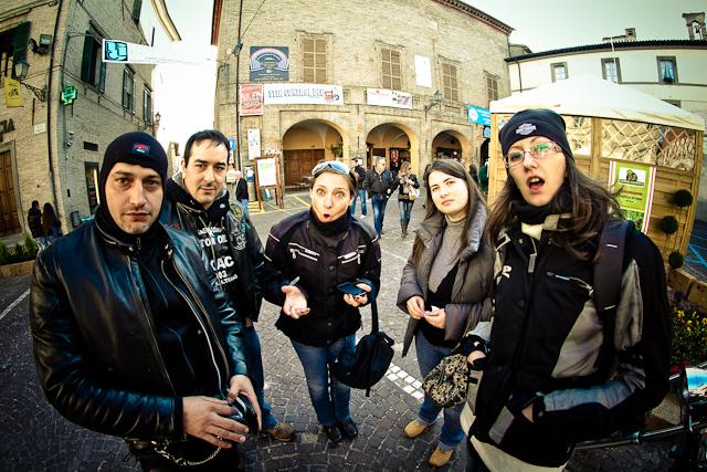 Motoraduno a Sant'Angelo in Vado