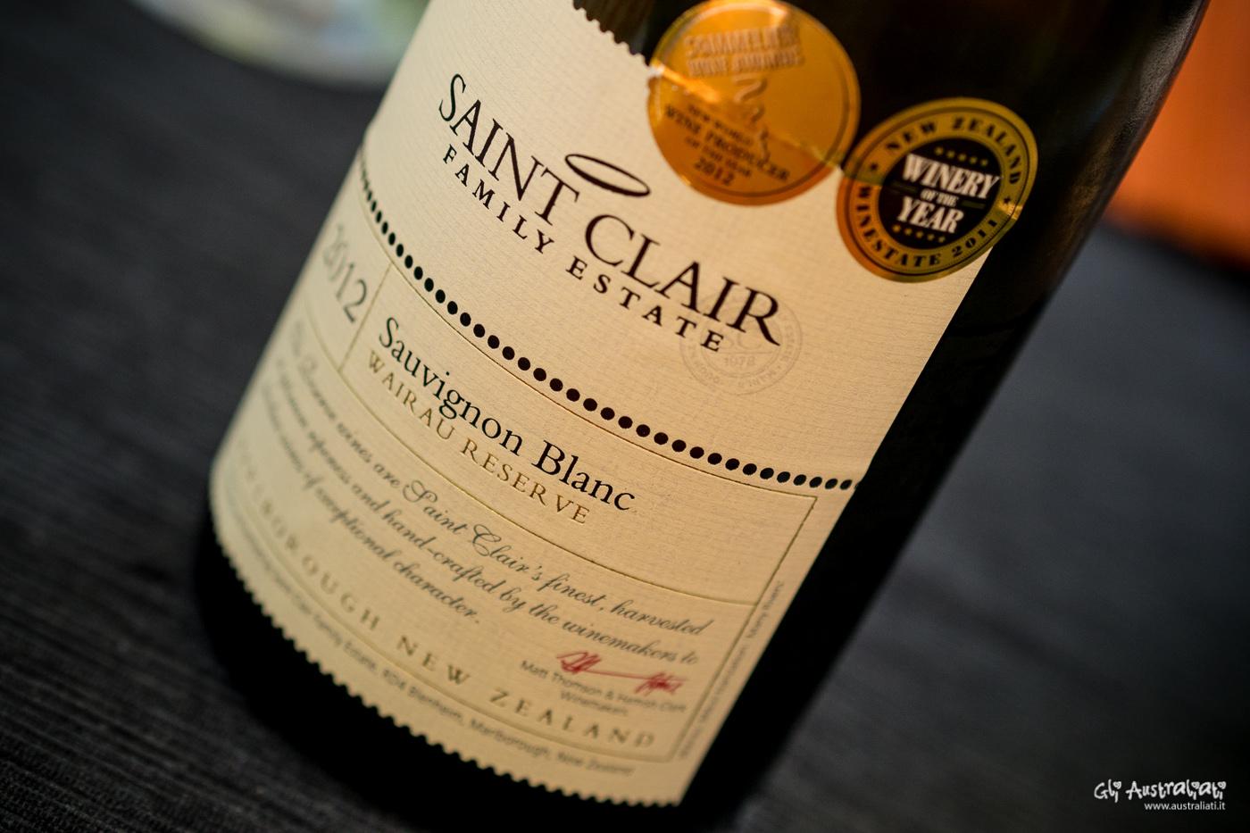 Saint Clair Sauvignon Blanc
