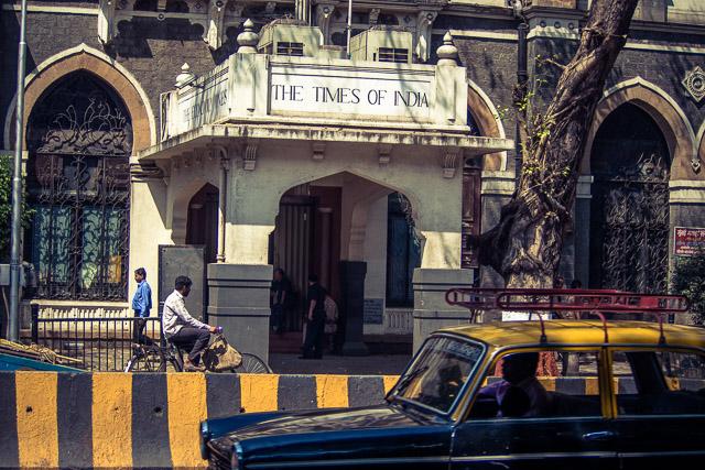 La famosa sede del Times of India