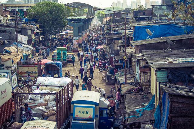 A spasso per la slum di Dharavi