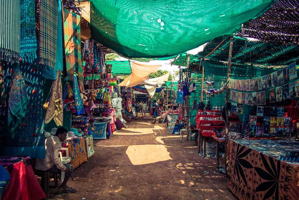 Il mercatino di Anjuna