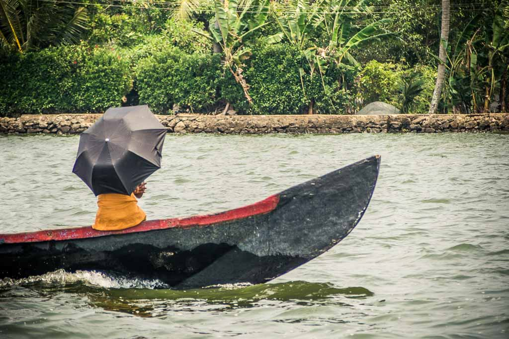 Le incredibili Backwaters del Kerala
