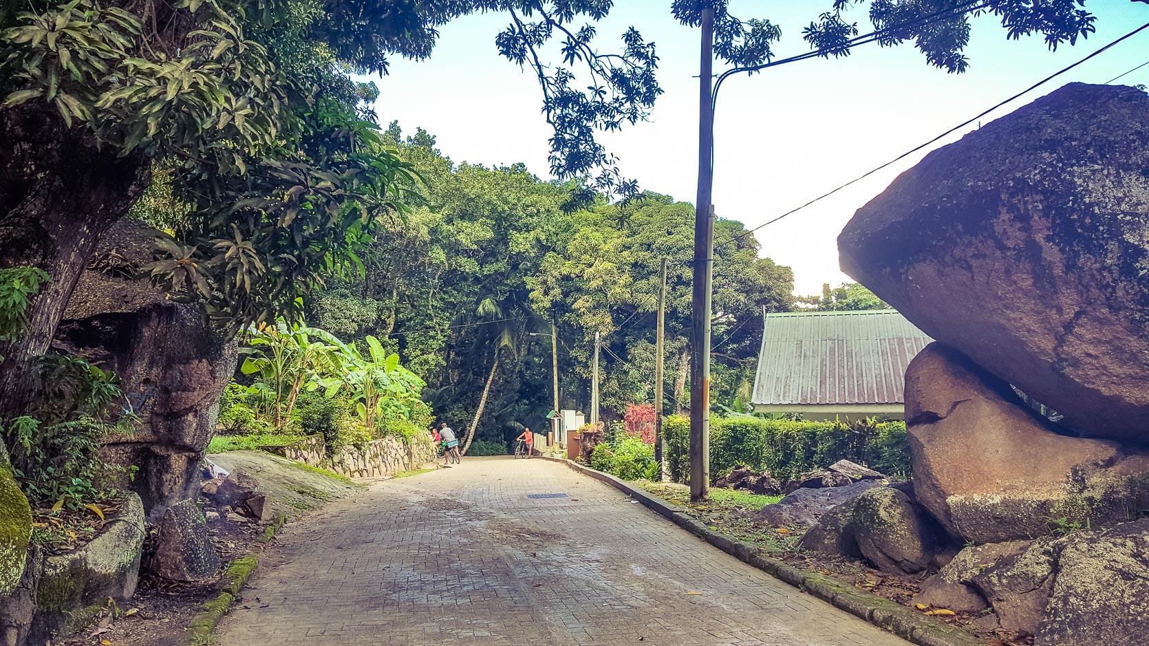Seychelles  in gravidanza - La Digue
