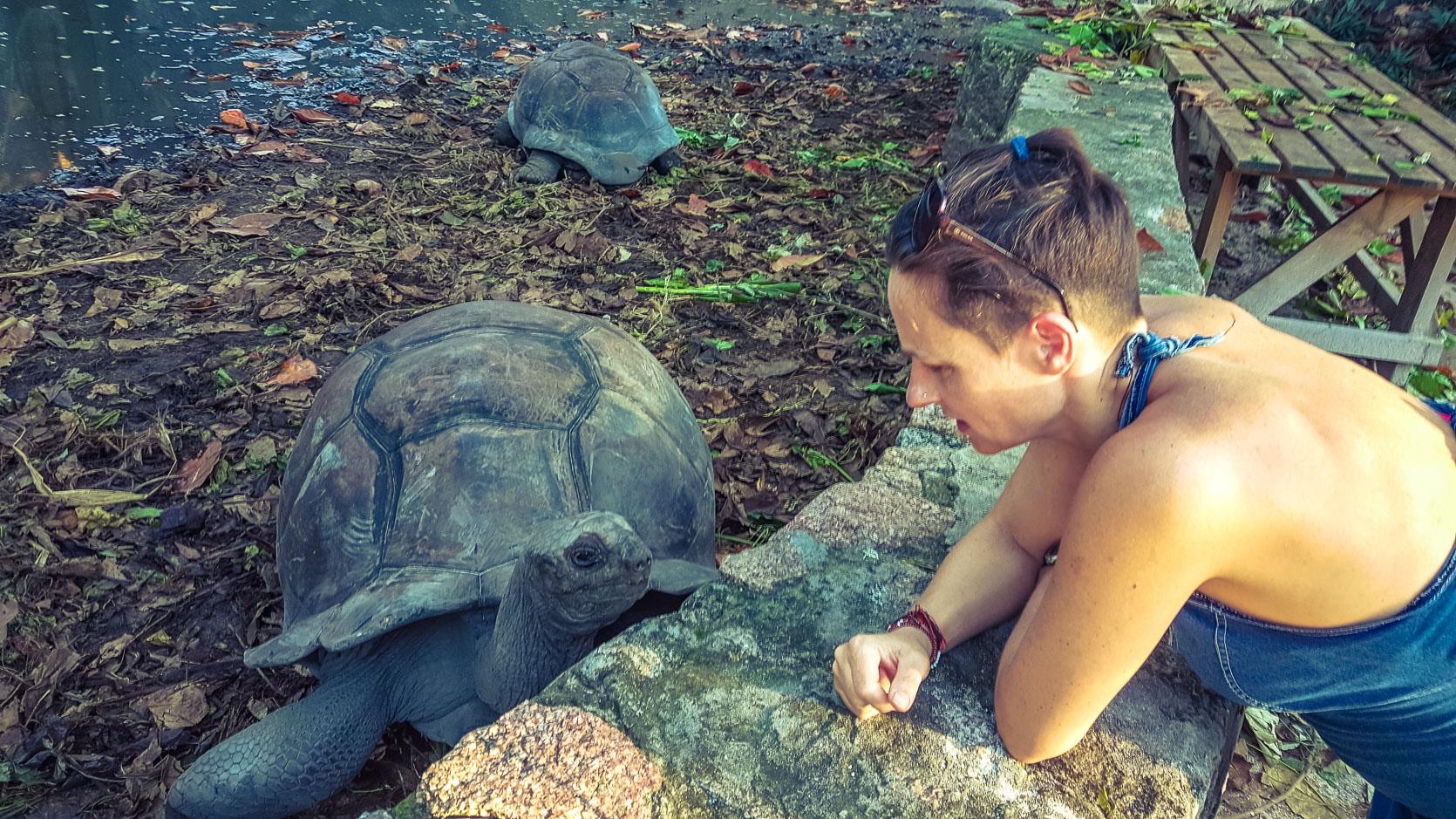Seychelles in gravidanza - La Digue il paradiso