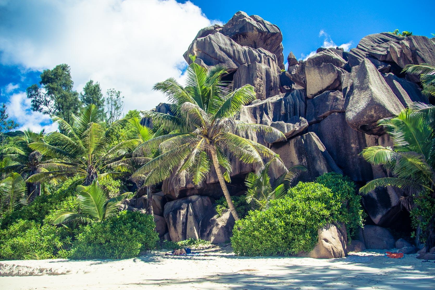 Seychelles in gravidanza - La Digue il giorno dopo
